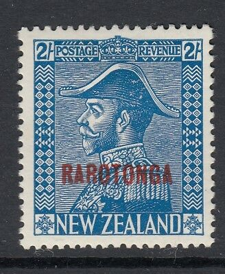 Cook Islands Sg91 1927 2/= Light Blue Mtd Mint