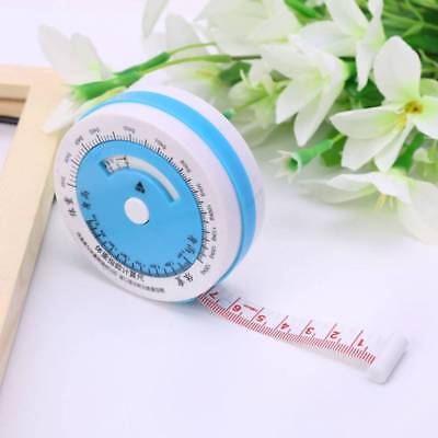 Creative 150cm Tape Measure Body Mass Retractable Diet Weight Ruler Healthy