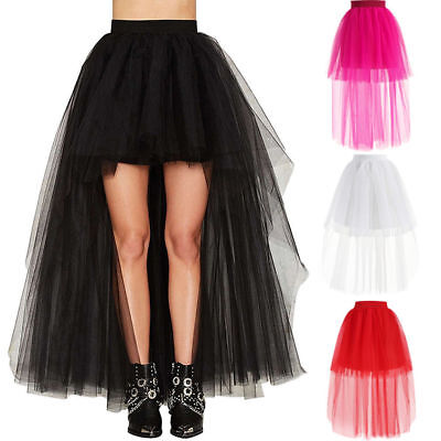 Layers All Color Ballet Skirt Long Women Tulle Skirts Wedding Prom Ball Gown