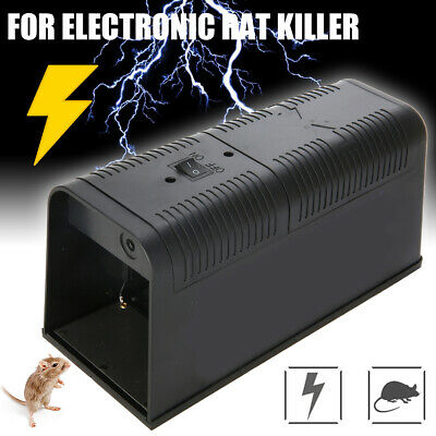 Mouse Electronic Trap Victor Control Rat Killer Electric Rodent Pest Mice Zapper