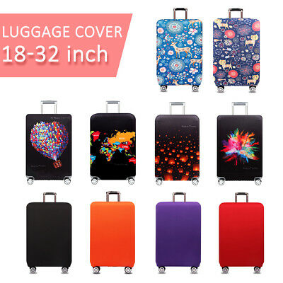 Travel Elastic Thick Luggage Cover Trolley Case Suitcase Dust Protector 18 ~ 32""