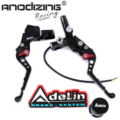 "7/8"" Adelin Front Brake Hydraulic Master Cylinder Lever and Clamp Clutch Master"