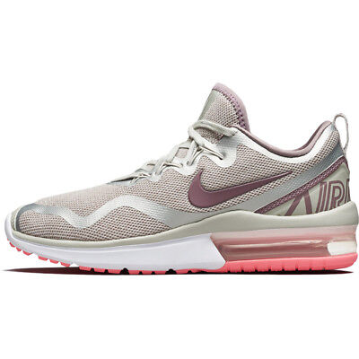 premium selection a4772 83783 Nike Air Max Fury Womens Running Shoes Light Bone Grey AA5740-004