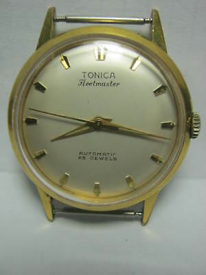 VINTAGE GERMAN WATCH TONICA FLEETMASTER AUTOMATIC CAL.Förster 192 - 1955 YEAR