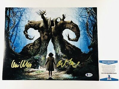 GUILLERMO DEL TORO SIGNED PAN'S LABYRINTH 11x14 PHOTO AUTHENTIC BAS COA #G29474