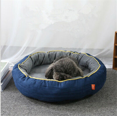 Self-Warming Cat and Dog Bed Cushion for Medium large Dogs Suede Fabric
