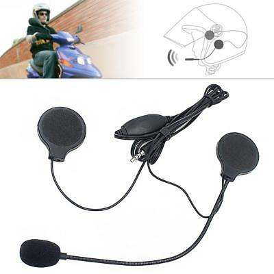 3.5MM Motorcycle Helmet Earphone Plug  Handsfree with MIC For MP3 MP4 Smartphone