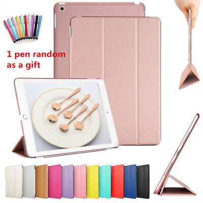 """New Smart Magnetic Leather Stand Case Cover for Apple iPad 9.7"""" 2017/2018 UK"""