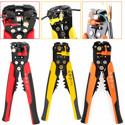 Self-Adjustable Automatic Wire Crimper Crimping Tool Stripper Plier Cable Cutter