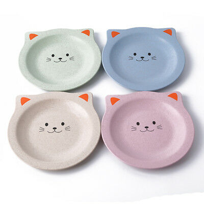 Multi-color Cats Wheat Straw Convenient And Insulation Tea Potholder Cup Pad LH
