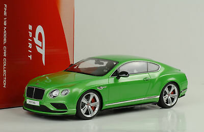 2015 Bentley Continental GT V8S Coupe greenmetallic 1:18 GT Spirit GT077