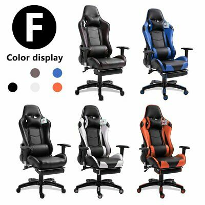 Gamer Chaise De Bureau Gaming Fauteuil Gamer Chair Siège Style Racing Racer