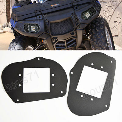 FIT POLARIS SPORTSMAN 1000 850 570 RZR 800 Headlight to LED Light Pod  Brackets
