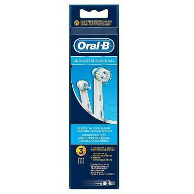 Oral-B Ortho Care Essentials Replacement Toothbrush Heads for Braces