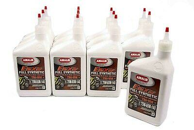 Amalie Elixir Gear Lube 75-85-140W 1 qt Case of 12 P/N 160-71376-56