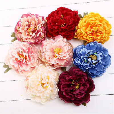Large Peony Flower Hair Clip Hairpin Brooch Wedding Bridesmaid Party Accessories