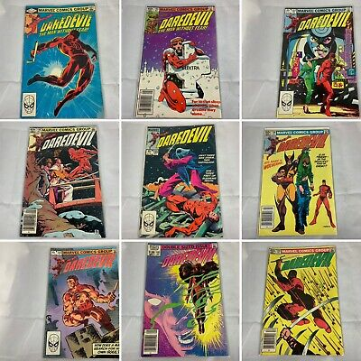 (Lot Of 101) Daredevil Man Without Fear Marvel Comics Frank Miller Elektra