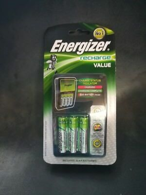 Energizer Value Charger AA/AAA - Recharge Value