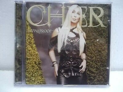CD Cher - Living Proof (Rare Brazil Press)