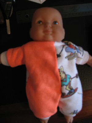 BERENGUER Doll,  28cm. Vinyl / Cloth.  Used. Good condition.