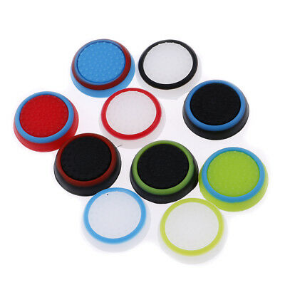 4 pcs Silicone Thumb Stick Grips Cover for PlayStation 4 Xbox Thumbstick CaB1JB