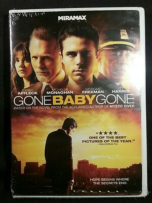 Gone Baby Gone (DVD, 2008) Factory sealed first class shipping