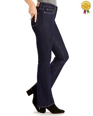 8e0a668ce77 Levis Womens Slimming Boot Cut Jeans Perfect Rise Dark Blue size 2 W 26 L 32