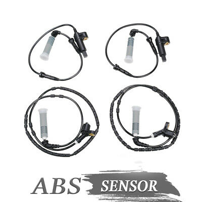 4pcs Frontrear Abs Wheel Speed Sensor For Bmw 320i M3 34521164651