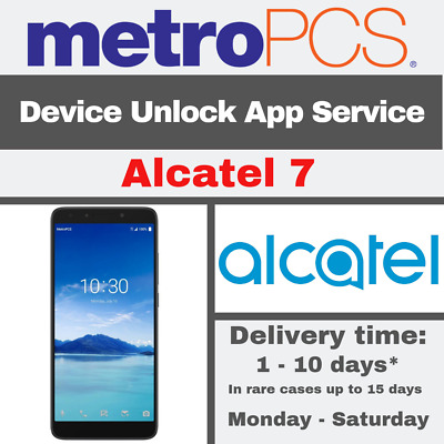 METRO PCS ANDROID APP DEVICE UNLOCK SERVICE FOR Alcatel 7