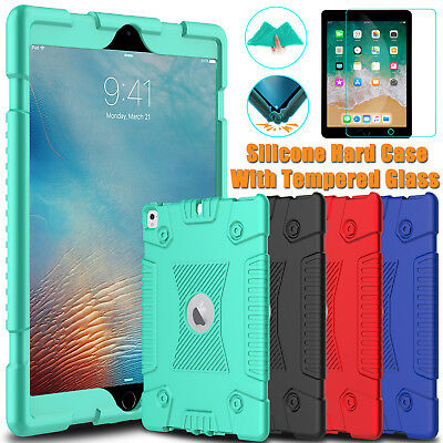 For Apple iPad 9.7 inch 2018 6th Gen Case Shockproof Slim Cover Screen Protector