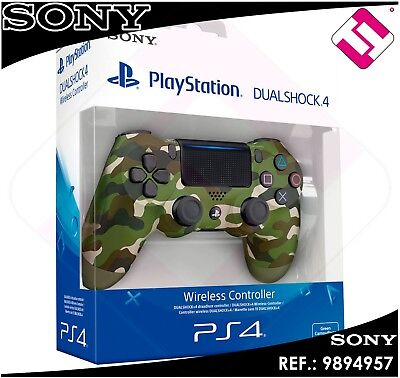 Mando Ps4 Dualshock Camuflaje Verde Original Playstation 4 Sony Green Wireless