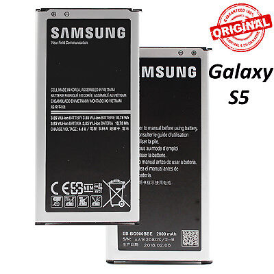 OEM Original Samsung S5 Galaxy S5 Active Phone Battery EB-BG900BBU 2800mAh 3.85V