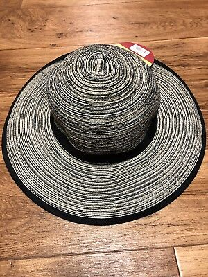 New Solar Escape Ladies UV Sierra Hat UPF 50+ Sun Rating Black Packs 4  Traveling 398487388084