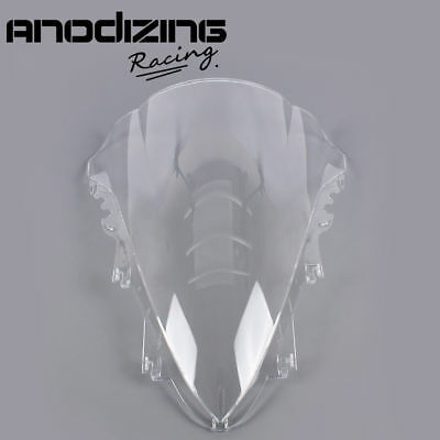 ANODIZING Windshield Windscreen Double Bubble for YAMAHA YZF-R1 YZF R1 2007 2008