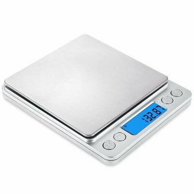 500g/0.01g Accurate Kitchen Digital Scale Food Diet Baking Electronic Balance