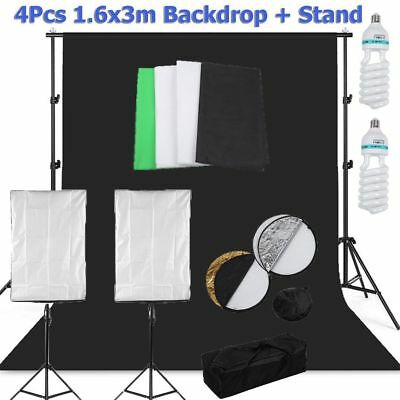 Softbox Kit d'Eclairage de Studio Photo Système de Photographie de Produit