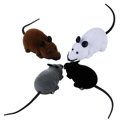 Remote Control RC Rat Mouse Funny Electronic Radio Wireless Cat Dog Pet Toy Gift