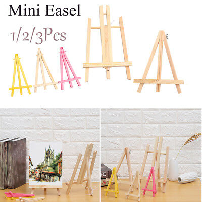 Mini Wood Easel Shelf Painting Stand Exhibition Photo Frame Table Holder Fashion