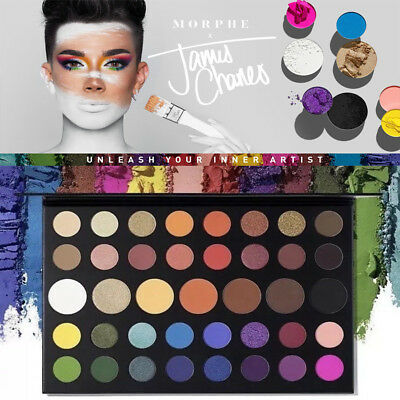 JAMES CHARLES Inner Artist Pressed Eyeshadow Palette Makeup Collection Cosmetic