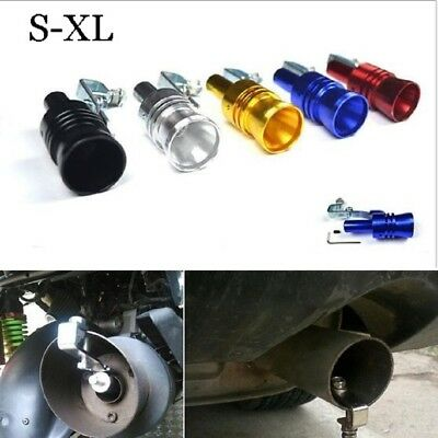 Muffler Exhaust Pipe Vale Simulator Whistle Eyeable Size M Car Turbo Sound