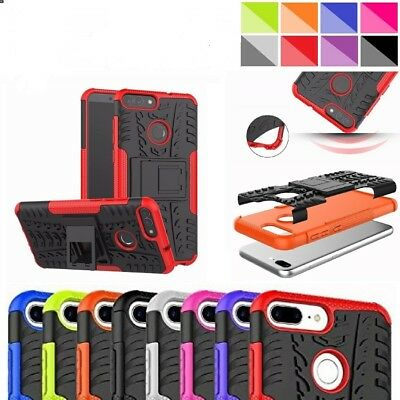 For Huawei P Smart/P20 Pro/Y6/Mate20 Pro Shockproof Builder Stand Case Cover