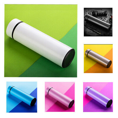 Stainless Steel Insulated Vacuum Thermos Cup Travel Mug Water Drink Bottle 450ml