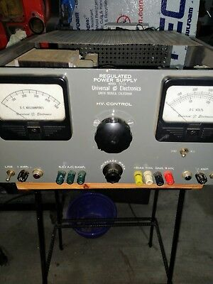 universal electric regulated power supply