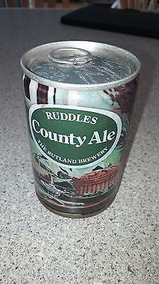 Ruddles County Ale England 275 ML Collectible Beer Can-Great Condition-Free Ship