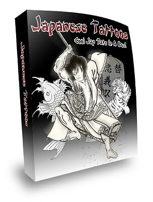 E Book Sale - Dazzling Japanese & Dragon Tattoos On Cd