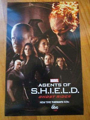 Marvel Agents of Shield Coulson Ghost Rider Poster NYCC 2016 ABC TV Show