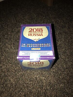 BOX 50 packs Stickers Russia 2018 Panini unopened