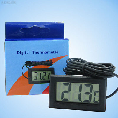 D2BF Digital LCD Aquarium Thermometer Temperature Meter With Waterproof Probe To