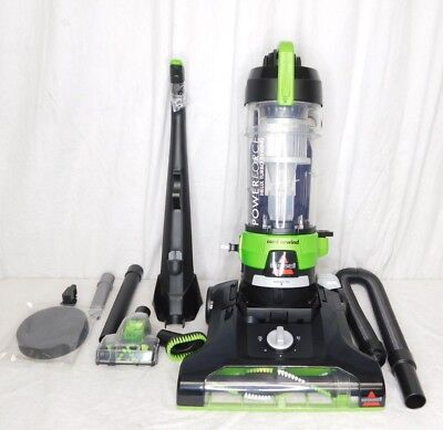 Bissell Powerforce Helix Turbo 68C7 Agitator Brush Roller w// Cleanable End Caps