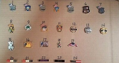 September 11th Memorial PINS - 24 Different Pins (YOU CHOOSE)